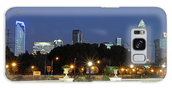 Uptown Charlotte, North Carolina Galaxy Case by Kevin McCarthy