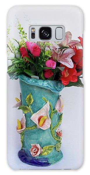 Vase, Rose Calla Galaxy Case