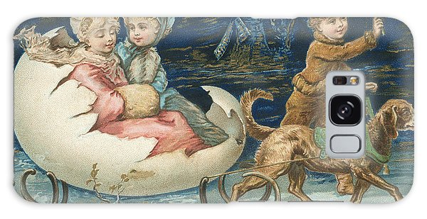 Whip Galaxy Case - Victorian Christmas Card by English School