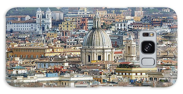 View Of Rome Italy From Atop Gianicolo Hill Galaxy Case