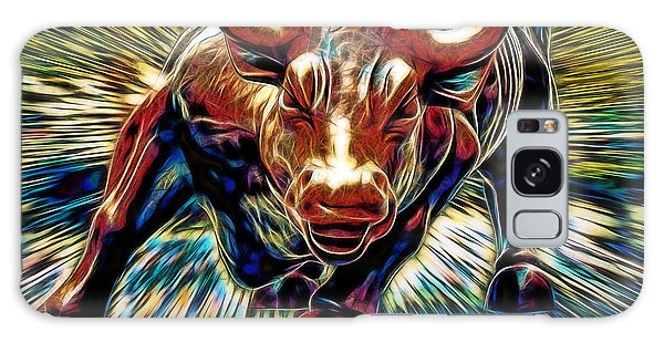 Bull Galaxy Case - Wall Street Bull Collection by Marvin Blaine