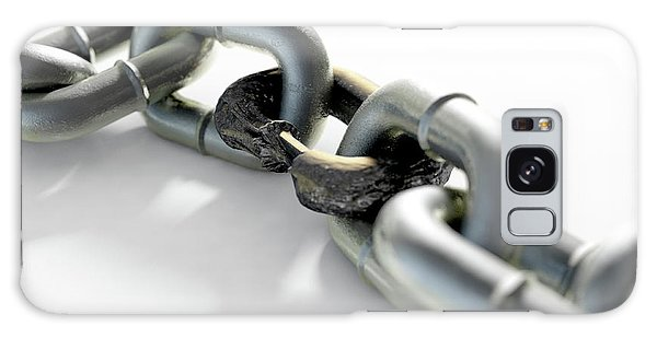 Rusty Chain Galaxy Case - Weak Rusted Link by Allan Swart