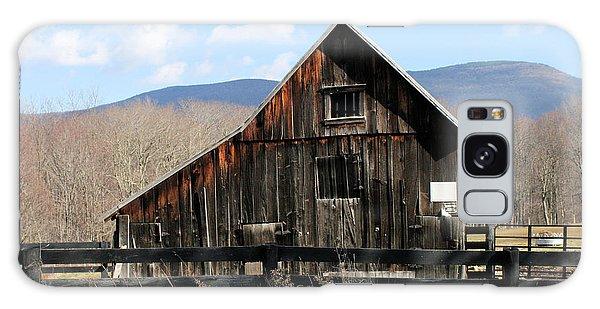West Virginia Barn Galaxy Case