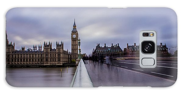 Houses Of Parliament Galaxy Case - Westminster Bridge by Martin Newman
