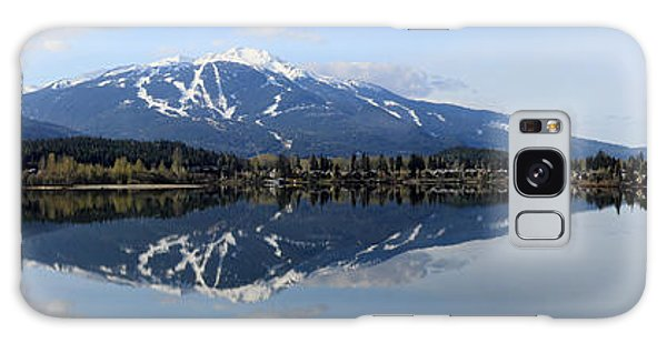 Whistler Blackcomb Green Lake Reflection Galaxy Case