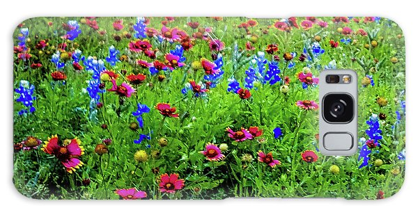 Wildflowers In Bloom Galaxy Case