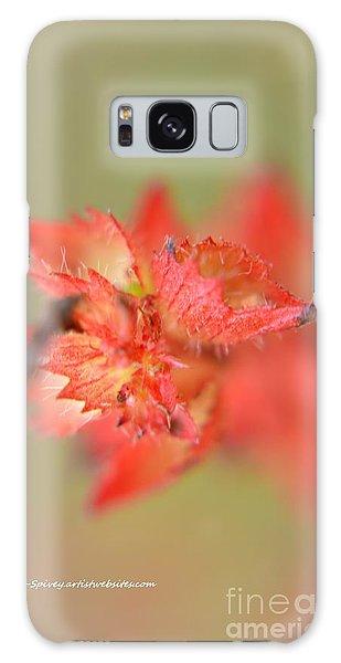 Wildflowers Galaxy Case by Janice Spivey