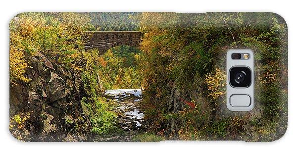 Winsor Dam Bridge Galaxy Case