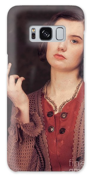 Cosplay Galaxy Case - Woman In Period Costume by Amanda Elwell