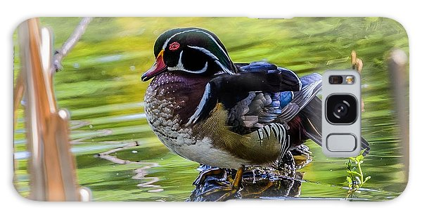 Wood Duck Galaxy Case by Jerry Cahill