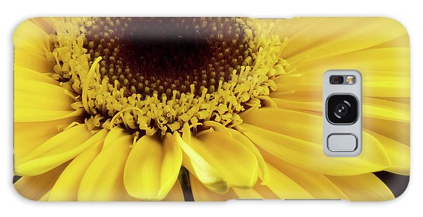 Yellow Gerbera Daisy Galaxy Case