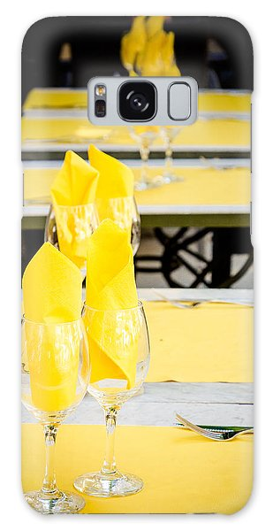 Galaxy Case featuring the photograph Yellow by Jason Smith