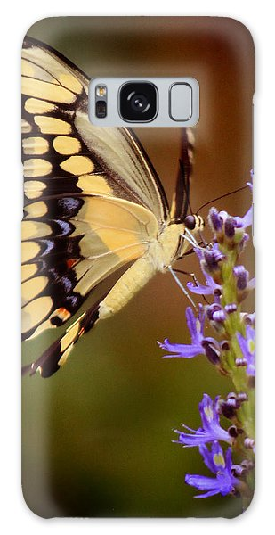 Yellow Swallowtail Galaxy Case by Joseph G Holland