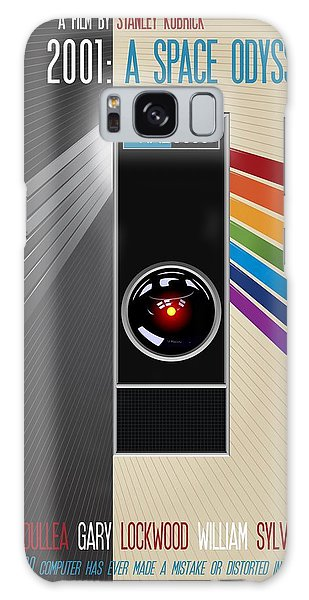 2001 A Space Odyssey Poster Print - No 9000 Computer Has Ever Made A Mistake Galaxy Case