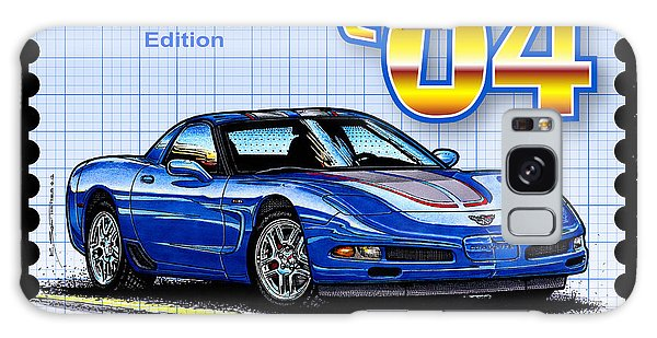 2004 Commemorative Edition Corvette Galaxy Case