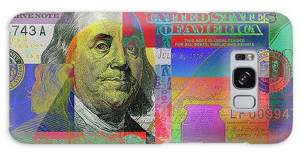 2009 Series Pop Art Colorized U. S. One Hundred Dollar Bill No. 1 Galaxy Case