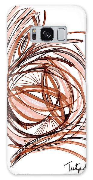 2010 Abstract Drawing Six Galaxy Case by Lynne Taetzsch