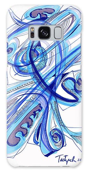 2010 Drawing Four Galaxy Case by Lynne Taetzsch