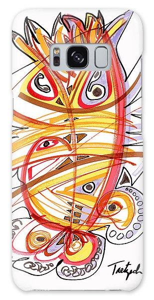2010 Drawing Three Galaxy Case by Lynne Taetzsch