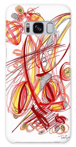 2010 Drawing Two Galaxy Case by Lynne Taetzsch