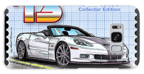 2013 60th Anniversary 427 Convertible Corvette Galaxy Case