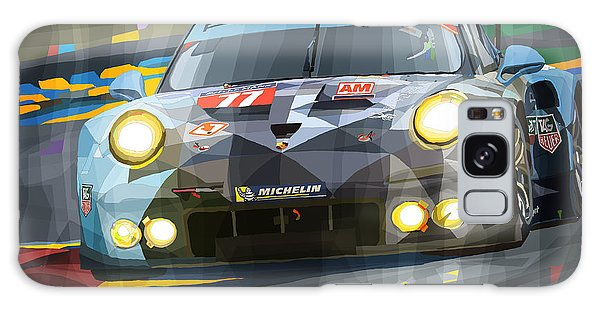 Car Galaxy S8 Case - 2015 Le Mans Gte-am Porsche 911 Rsr by Yuriy Shevchuk