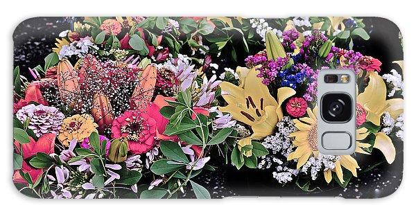 2015 Monona Farmers Market Flowers 1 Galaxy Case