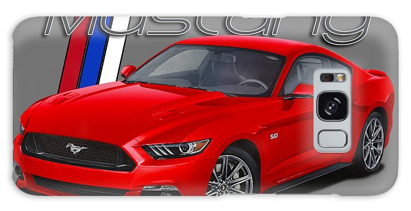 Front Galaxy Case - 2015 Red Mustang by Paul Kuras