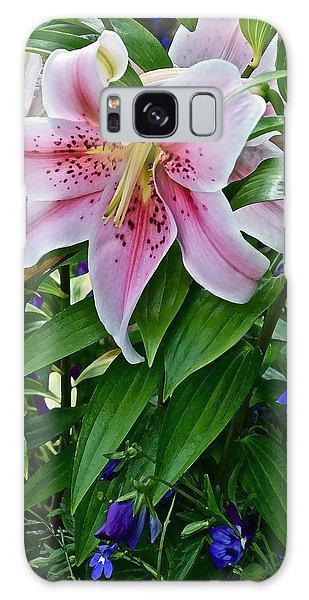 2015 Summer At The Garden Event Garden Lily 3 Galaxy Case