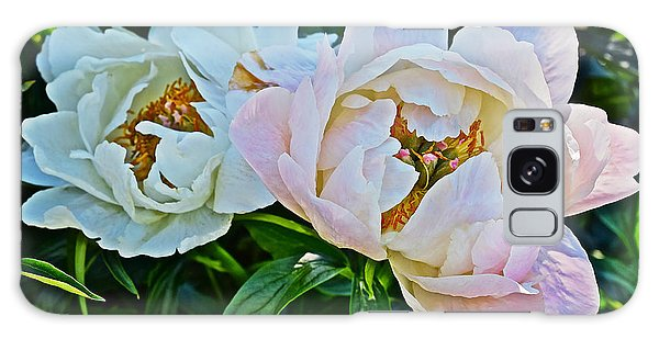 2015 Summer's Eve At The Garden White Peony Duo Galaxy Case