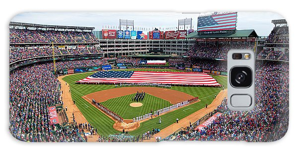 2015 Texas Rangers Home Opener Galaxy Case