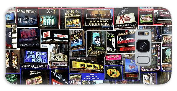 2016 Broadway Spring Collage Galaxy Case