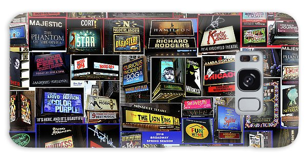 2016 Broadway Spring Collage Galaxy Case by Steven Spak