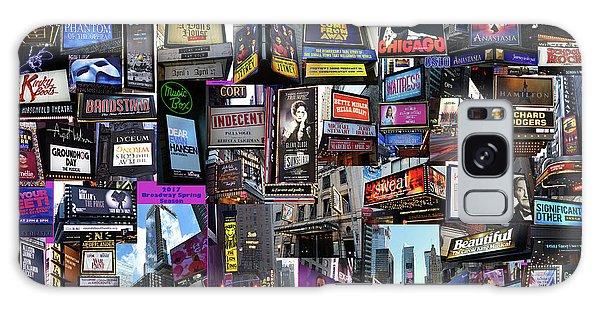 2017 Broadway Spring Collage Galaxy Case