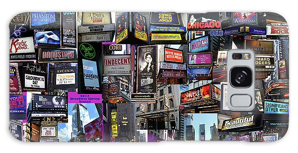 2017 Broadway Spring Collage Galaxy Case