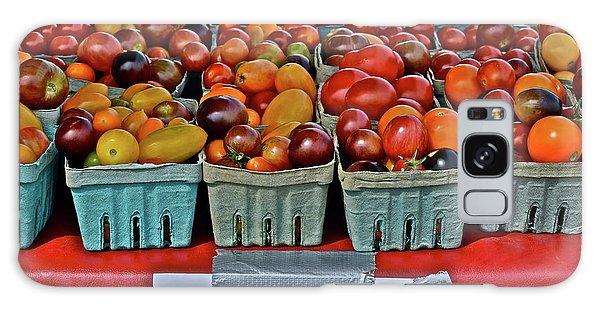 2017 Monona Farmers' Market August Heirloom Cherry Tomatoes Galaxy Case
