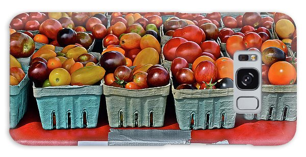 2017 Monona Farmers' Market August Heirloom Cherry Tomatoes Galaxy Case