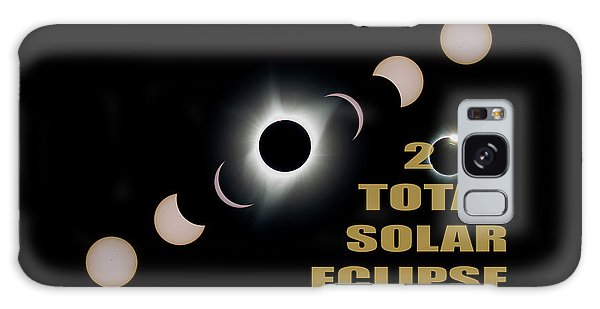 2017 Total Solar Eclipse Phases Galaxy Case
