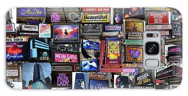 2018 Broadway Spring Collage Galaxy Case