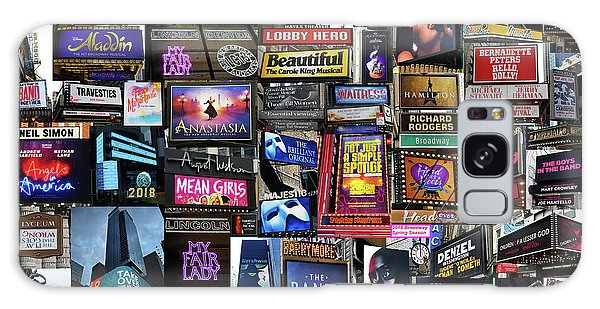2018 Broadway Spring Collage Galaxy Case