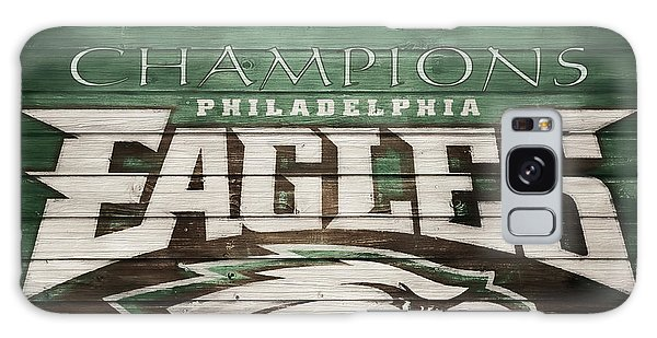 The Eagles Galaxy Case - 2018 Superbowl Eagles Barn Wall by Dan Sproul
