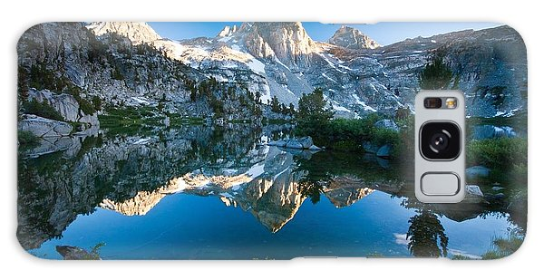 209055 Mountain Lake Sunrise Reflection Water Trees Nature Landscape Galaxy Case