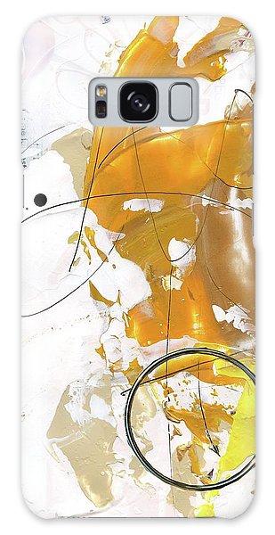 Three Color Palette Galaxy Case by Michal Mitak Mahgerefteh
