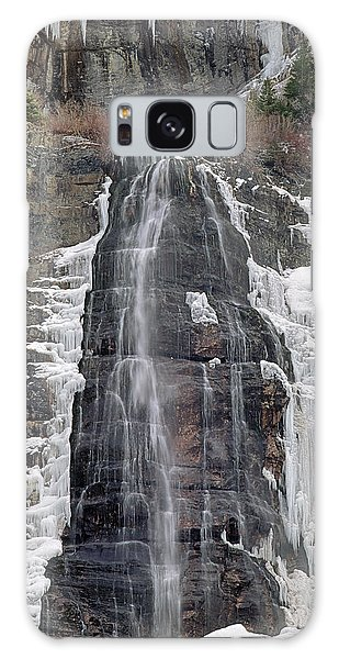 212m40 Bridal Veil Falls Utah Galaxy Case