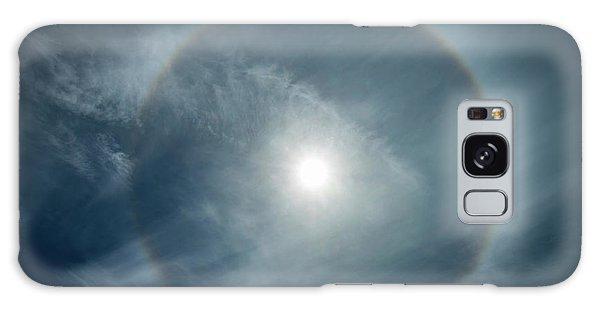 22 Degree Solar Halo Galaxy Case