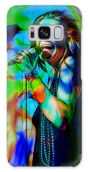 Janis Joplin Collection Galaxy Case by Marvin Blaine