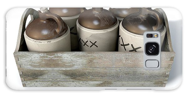 Jug Galaxy Case - Moonshine In Wooden Crate by Allan Swart