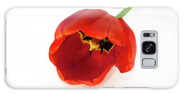 Red Tulip Galaxy Case
