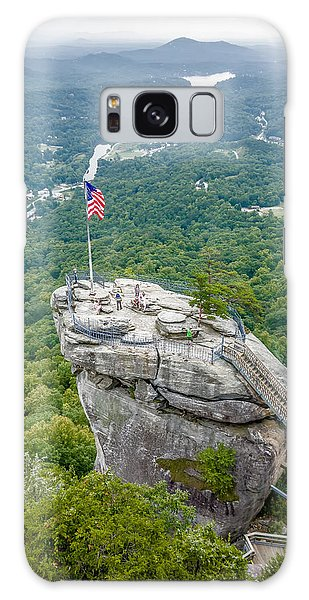 Lake Lure And Chimney Rock Landscapes Galaxy Case