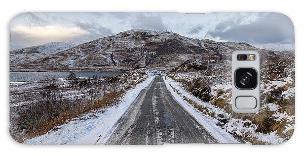 Trossachs Scenery In Scotland Galaxy Case